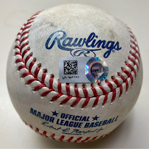 Photo of Game-Used Baseball: Dylan Cease Chicago White Sox Strikeout (MLB AUTHENTICATED)