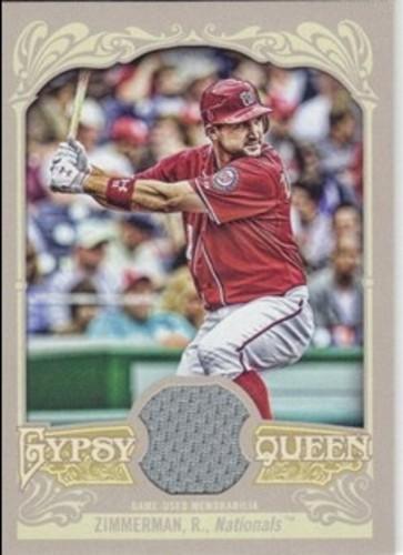 Photo of 2012 Topps Gypsy Queen Relics #RZ Ryan Zimmerman