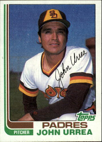 Photo of 1982 Topps #28 John Urrea