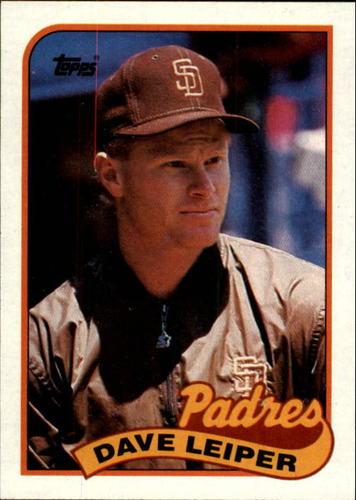 Photo of 1989 Topps #82 Dave Leiper