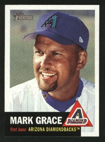 Photo of 2002 Topps Heritage #136 Mark Grace