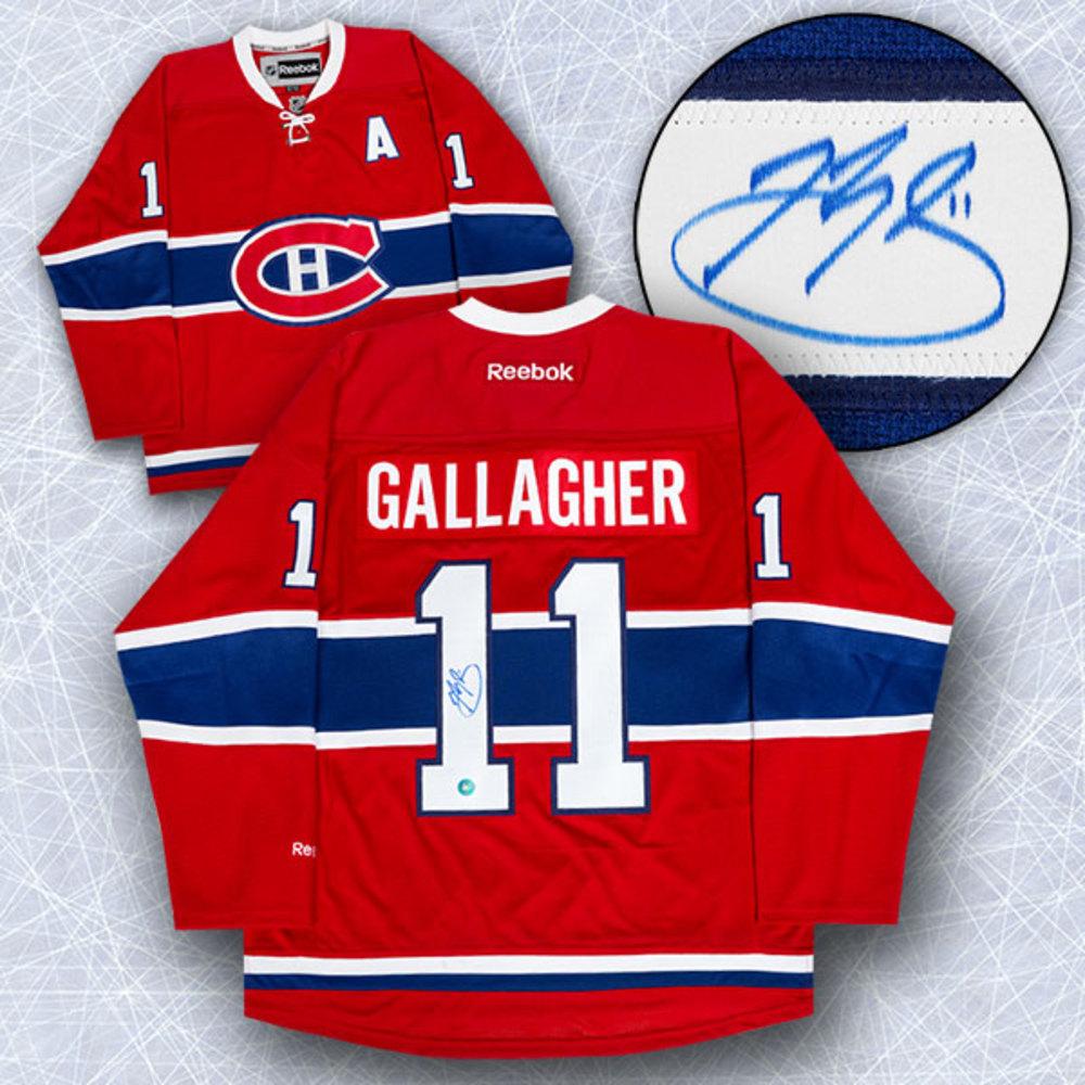 Brendan Gallagher Montreal Canadiens Autographed Reebok Premier Hockey Jersey