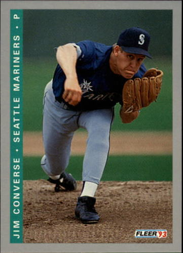 Photo of 1993 Fleer Final Edition #267 Jim Converse RC
