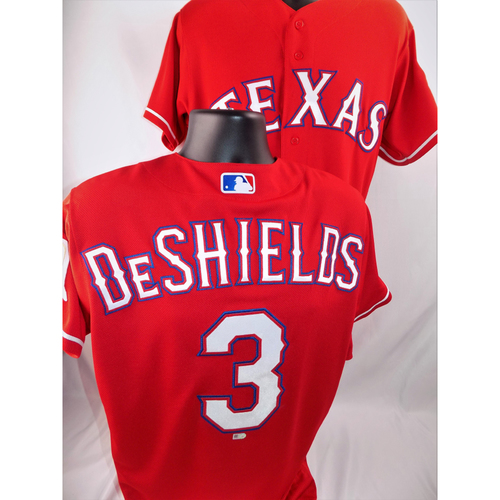 Photo of Delino DeShields Game-Used Jersey - Worn June 15, 2018 vs. Colorado Rockies (Went 1-3) - Size 40
