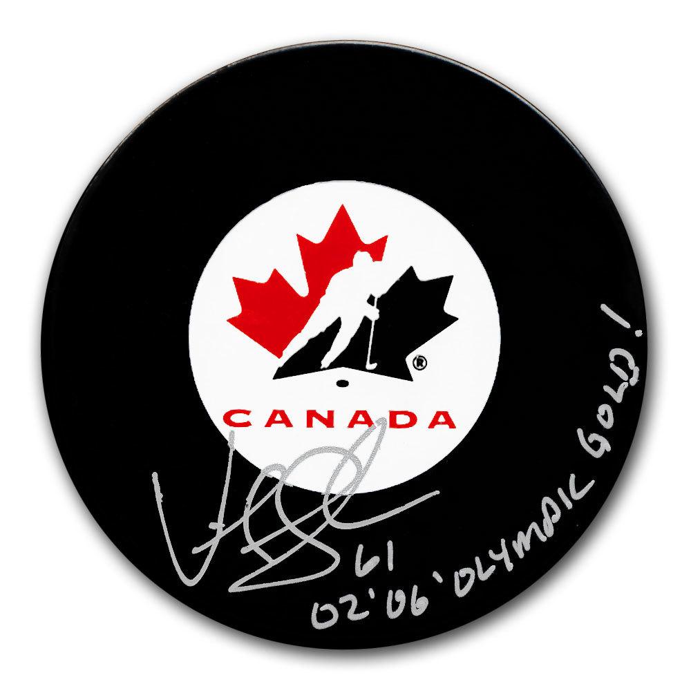 Vicky Sunohara Team Canada Autographed Puck