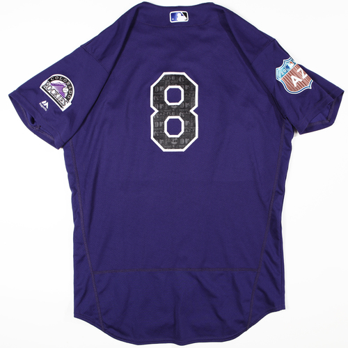 Photo of 2016  Spring Training -  Game-Used Jersey - Gerardo Parra (Rockies) - Size 46