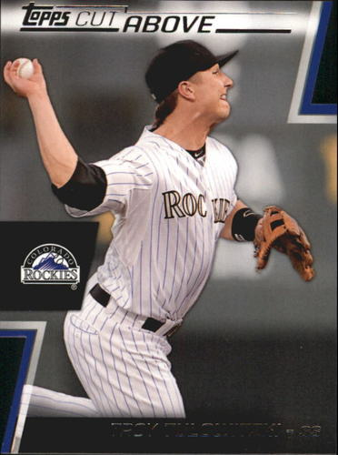 Photo of 2012 Topps A Cut Above #ACA25 Troy Tulowitzki