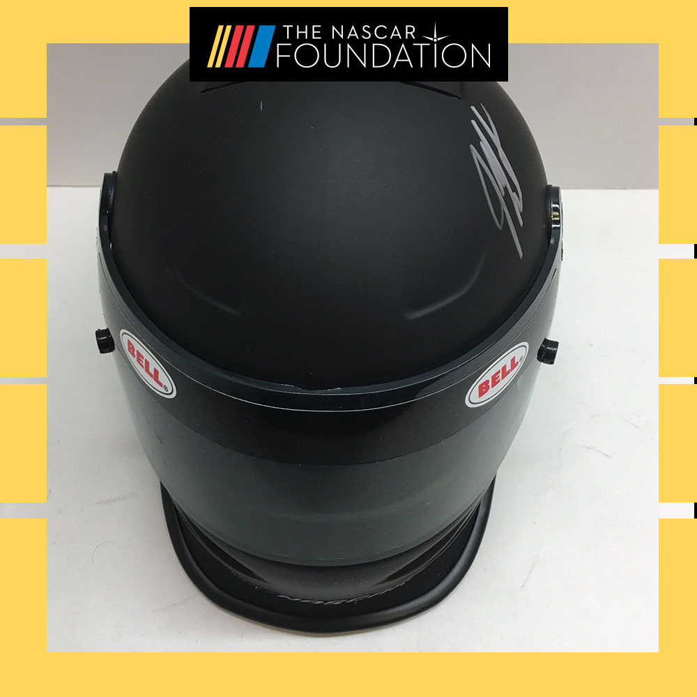 NASCAR's Jeff Burton Autographed Mini Bell Helmet!