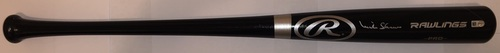 Photo of Mike Shannon Autographed Black Rawlings Bat