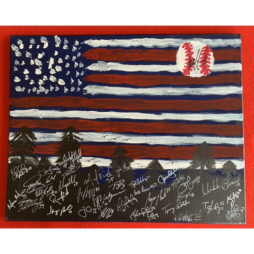Photo of 2019 Twins Favorite Things Auction: Tyler Austin Painting