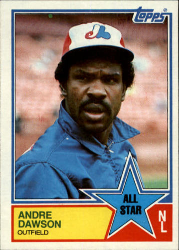Photo of 1983 Topps #402 Andre Dawson AS