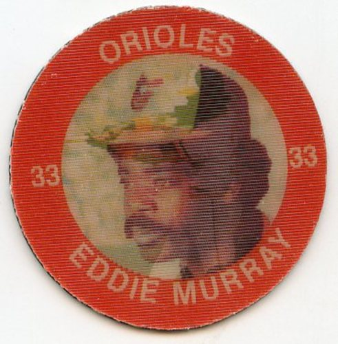 Photo of 1984 Seven-Eleven Coins #E6 Eddie Murray