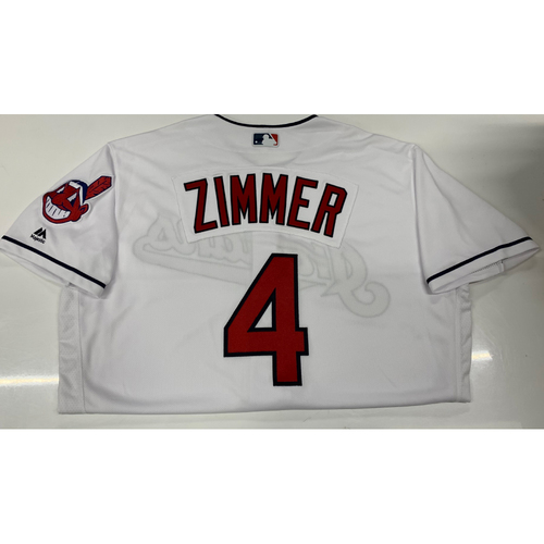 Photo of Bradley Zimmer Team-Issued Home Jersey