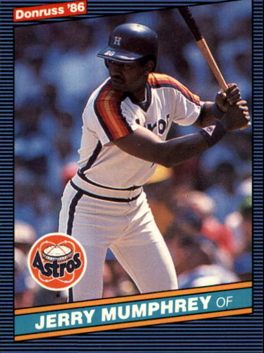 Photo of 1986 Donruss #84 Jerry Mumphrey