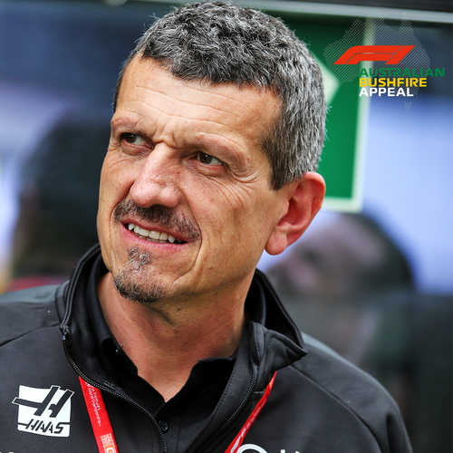 Photo of Guenther Steiner Lunch & Garage Tour