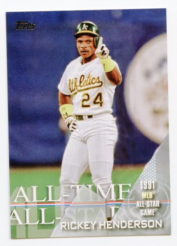 Photo of 2017 Topps All Time All Stars #ATAS21 Rickey Henderson