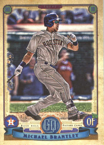 Photo of 2019 Topps Gypsy Queen #54 Michael Brantley