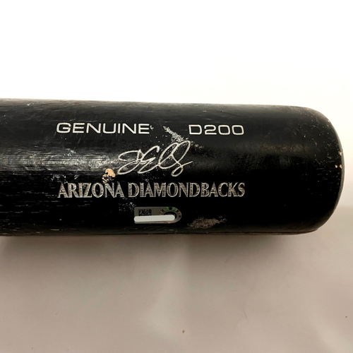 Photo of Drew Ellis Game-Used Broken Bat vs. Jay Jackson - Giants @ D-backs 8/2/2021