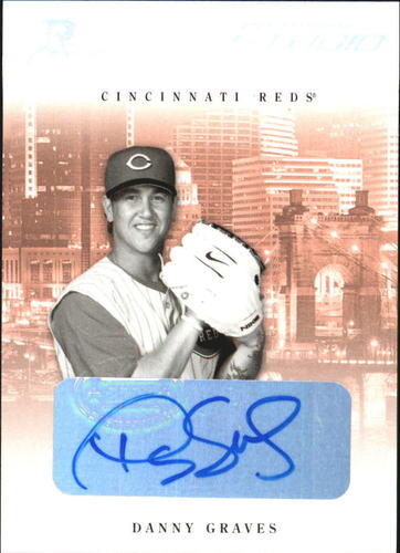 Photo of 2005 Studio Private Signings Silver #81 Danny Graves