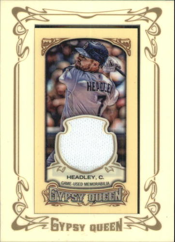 Photo of 2014 Topps Gypsy Queen Framed Mini Relics #GMRCH Chase Headley