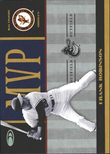 Photo of 2004 Donruss World Series MVP #3 Frank Robinson