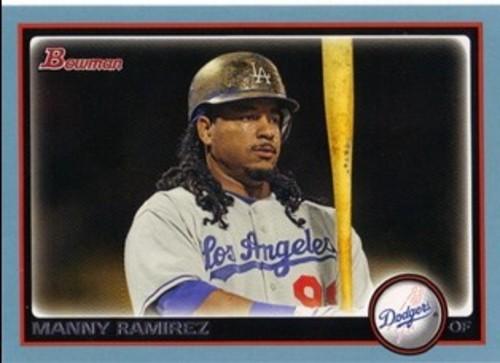 Photo of 2010 Bowman Blue #178 Manny Ramirez