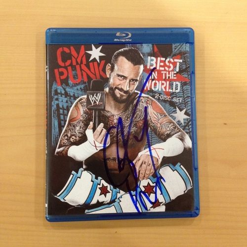CM Punk SIGNED