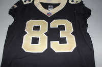 CRUCIAL CATCH - SAINTS WILLIE SNEAD GAME WORN SAINTS JERSEY (OCTOBER 15, 2017)