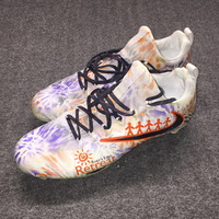 MY CAUSE MY CLEATS - BEARS DONTRELLE INMAN GAME WORN CUSTOM CLEATS (DECEMBER 3, 2017) CLEATS WORN DURING HALF OF GAME (RIVER'S EDGE RETREAT)
