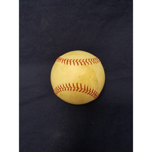 Photo of Game-Used Baseball: Justin Upton Single v Seattle Mariners - 9/30/17