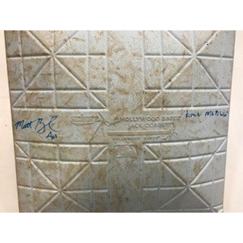 Photo of Autographed Game-Used Base: Matthew Boyd 1st MLB Win