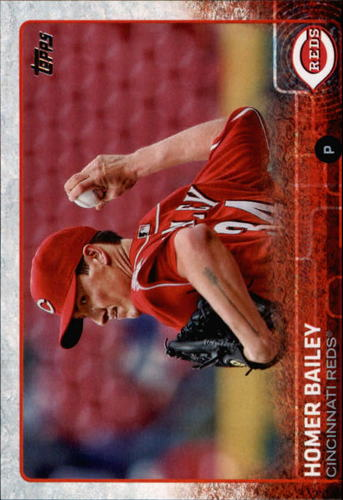 Photo of 2015 Topps #541 Homer Bailey