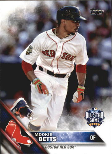 Photo of 2016 Topps Update #US201A Mookie Betts AS