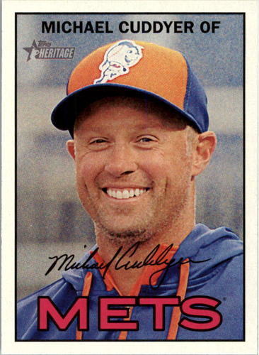 Photo of 2016 Topps Heritage #144 Michael Cuddyer