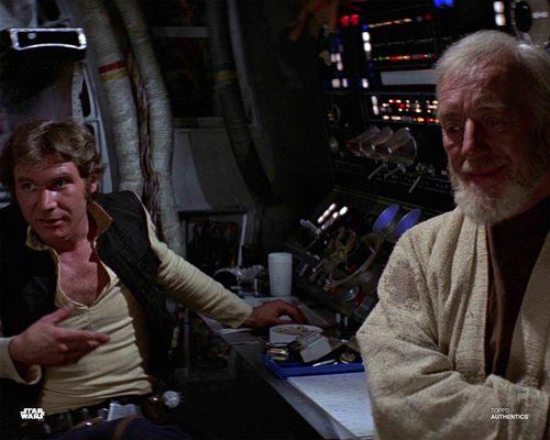 Han Solo and Obi-Wan Kenobi