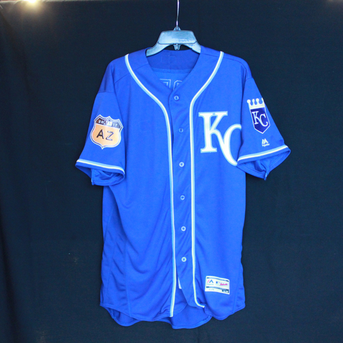 Photo of 2017 Team-Issued Spring Training Jersey: George Brett (Size - 46)