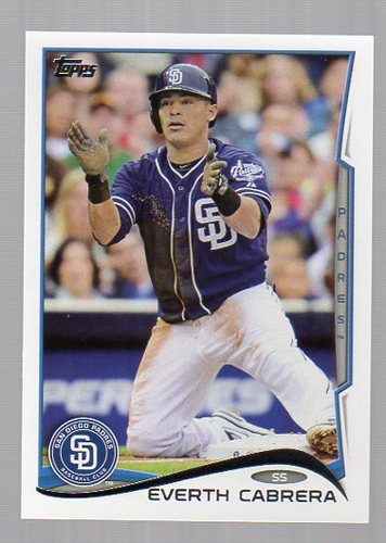 Photo of 2014 Topps #280 Everth Cabrera