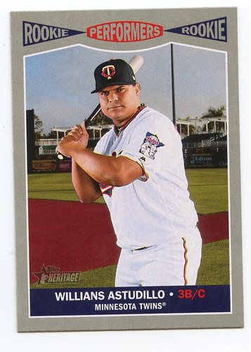 Photo of 2019 Topps Heritage Rookie Performers #RP11 Willians Astudillo