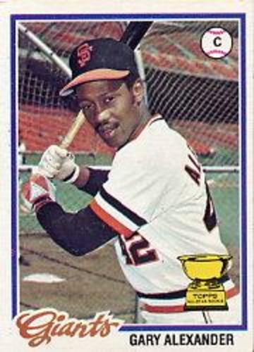 Photo of 1978 Topps #624 Gary Alexander DP