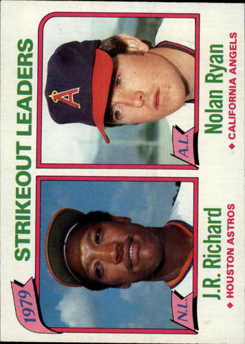 Photo of 1980 Topps #206 Strikeout Leaders/J.R. Richard/Nolan Ryan