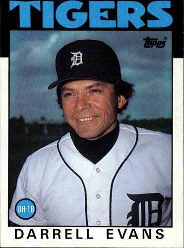 Photo of 1986 Topps #515 Darrell Evans