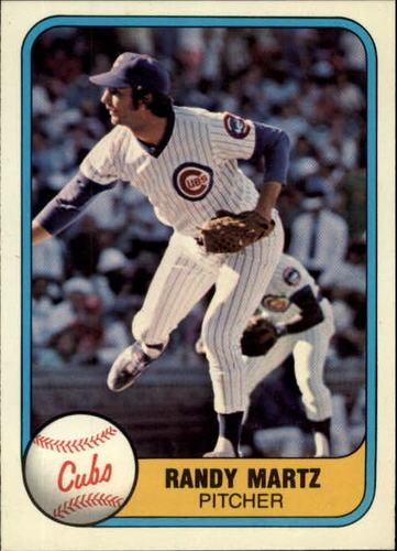 Photo of 1981 Fleer #300 Randy Martz RC