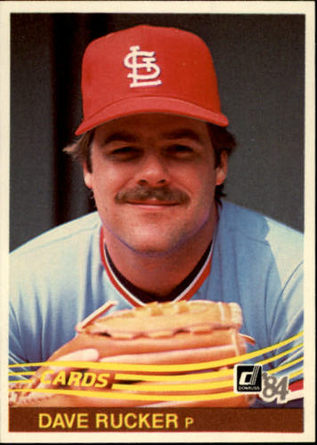 Photo of 1984 Donruss #260 Dave Rucker