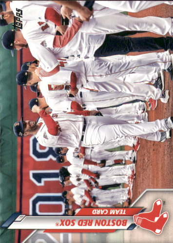 Photo of 2020 Topps #274 Boston Red Sox TC
