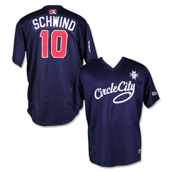 Photo of #10 Jon Schwind Autographed Game Worn Circle City Jersey