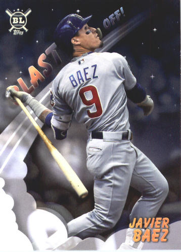 Photo of 2019 Topps Big League Blast Off #BO4 Javier Baez