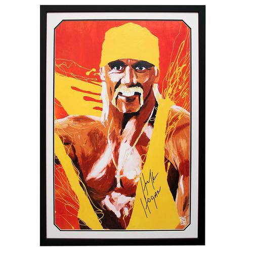 Hulk Hogan SIGNED 24
