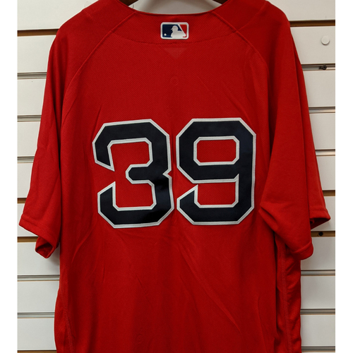 Photo of Carson Smith #39 Team Issued Red Home Alternate Jersey