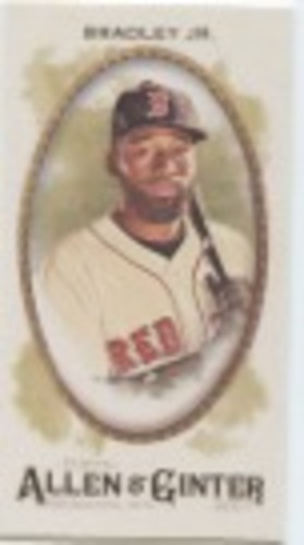Photo of 2017 Topps Allen and Ginter Mini #170 Jackie Bradley Jr.