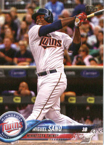 Photo of 2018 Topps #288 Miguel Sano